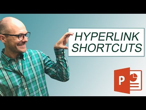 Hyperlink in PowerPoint Shortcuts