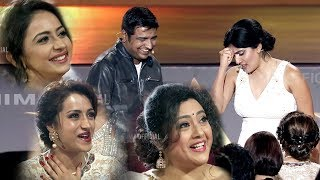 Dhanya And Sathish Comedy With South Actresses