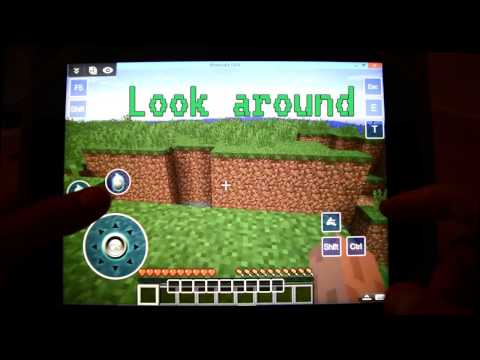 Get ready to play full PC Minecraft remotely on your iPad!