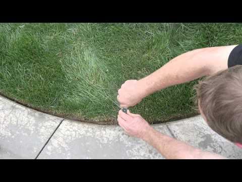 How to Adjust Sprinkler Heads HD
