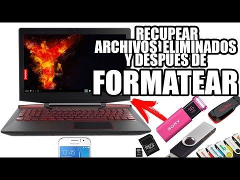 COMO RECUPERAR ARCHIVOS ELIMINADOS DEL CELULAR, USB, SD, DISCO DURO (FACIL)