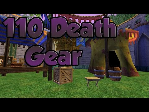 Wizard101: 110 Death Gear Setup