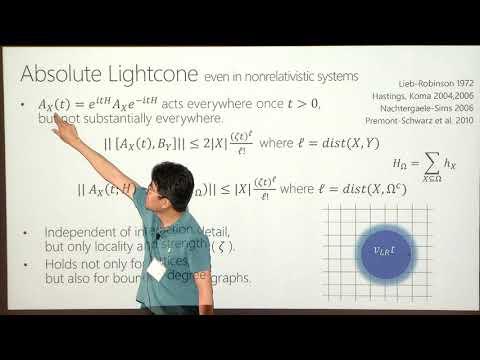 Quantum Algorithm for Simulating Real Time Evolution of Lattice Hamiltonians