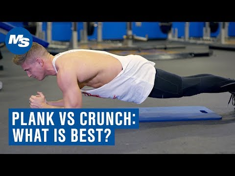 Plank vs. Crunch - Which is The Best Exercise For Abs & Core?