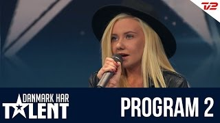 Fie og Freja - Danmark har talent - Program 2