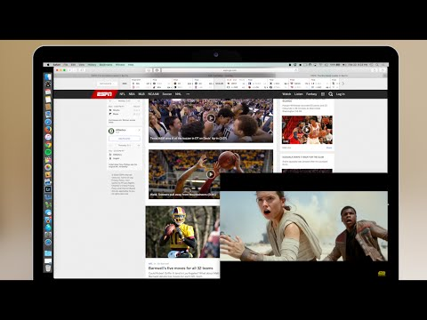 Picture in Picture Video on Mac | Fluid Browser Review