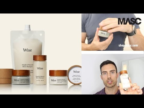 Wise Men's Care: Natural, Recyclable,  Refillable, Reusable