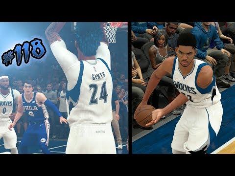 NBA 2k18 MyCAREER S2 - INTENSE Down to the Last Shot! KAT DISLOCATES HIS SHOULDER! Ep. 118