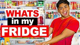 Download 100 WEIRD THINGS In My HUGE Fridge! Video
