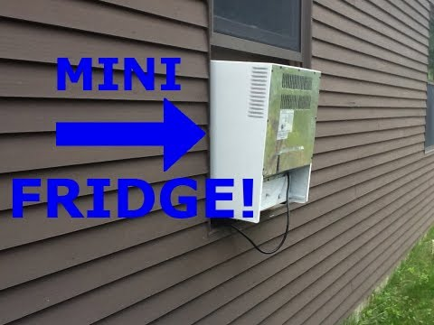 Homemade Minifridge Air Conditioner