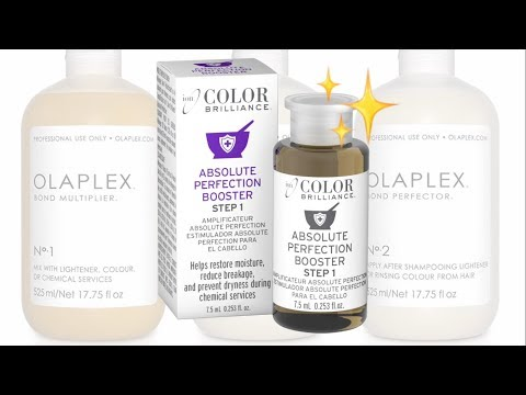 Olaplex Dupe For Only 2$?! | New Ion Absolute Perfection Booster