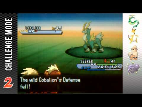How to Catch Cobalion Walkthrough - White 2 Challenge Mode