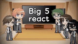 Big 5 react to Assassination Classroom | Gacha Club | GachaStudio Luna | Flash Warning?