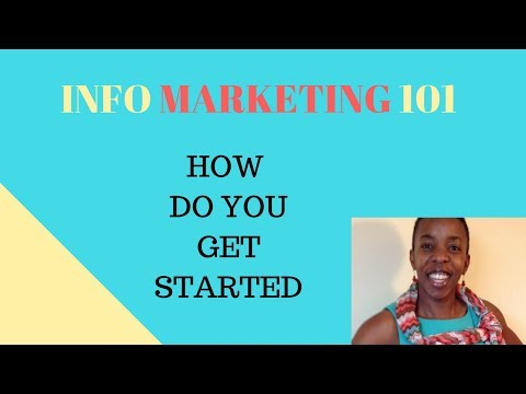 Info Marketing 101: How can you get started as an infopreneur (2018)