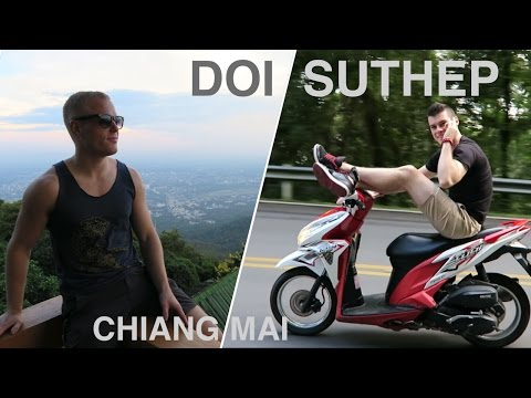 RIDING UP DOI SUTHEP 🌴 Top Things to do in Chiang Mai (Wat Prathat) Thailand Travel Vlog 2016