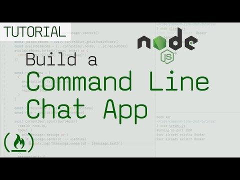 Node.js and Chatkit JavaScript tutorial: Build a command-line chat app