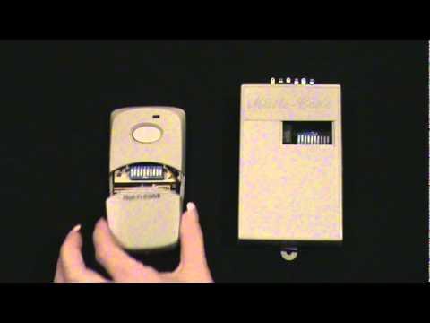 Programming Dip Switch Remote