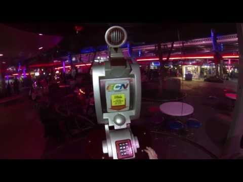 Phone Booth in DisneyWorld's Tomorrowland Galactic Communications Network