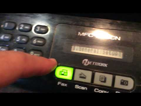 How To Clean a Brother Printer MFC-295CN so it prints again