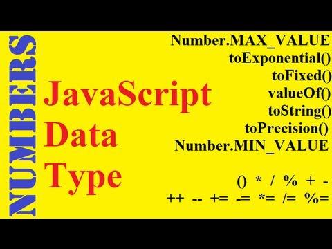 JavaScript Numbers