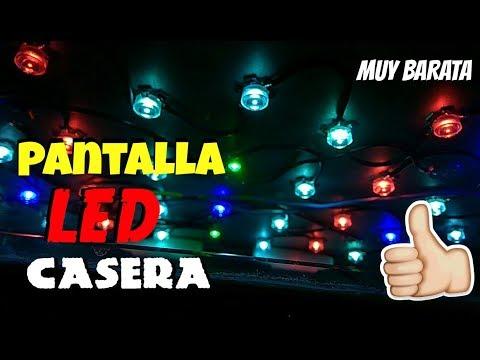 Cómo HACER BUENA PANTALLA LED CASERA para ACUARIOS MUY BARATA  HD 