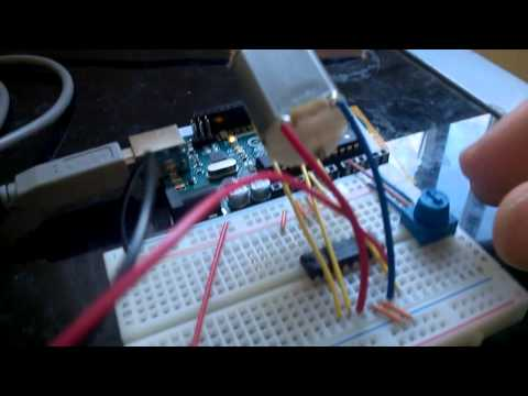 Motor speed and direction control w/ H Bridge and Potentiometer