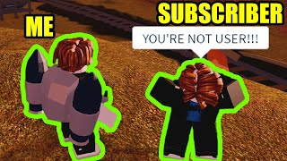 I ARRESTED HIM ON MY ALT... HE DIDN'T THINK it was ME! | Roblox Jailbreak