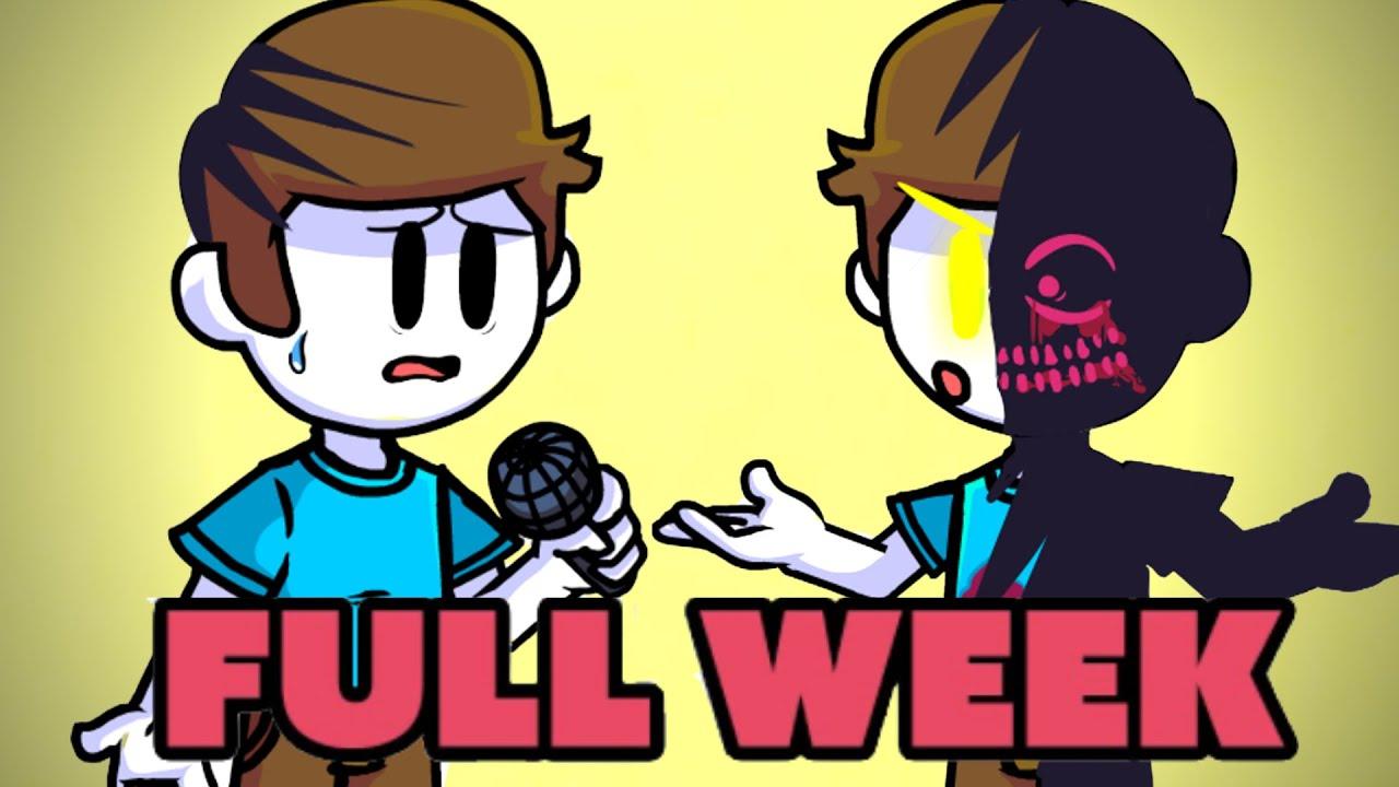 FRIDAY NIGHT FUNKIN Nonsense VS Evil boyfriend FULL WEEK