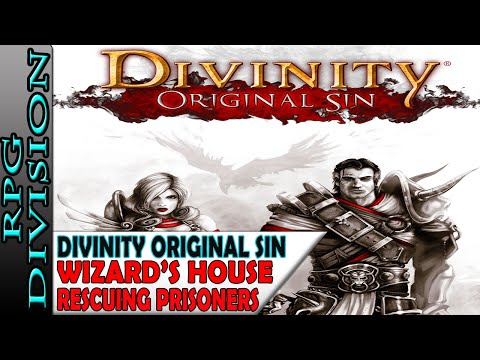 Divinity: Original Sin - Tunnel To Wizard's House, Hidden Villagers & Rescuing Prisoners