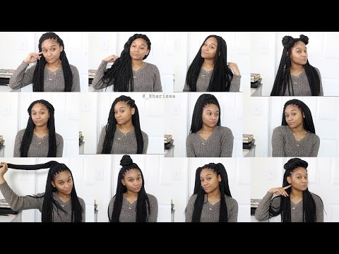 How to Style : Crochet Braids (12 Styles)
