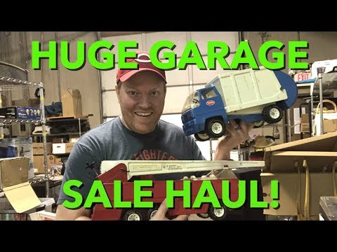 HUGE Saturday Garage Sale Haul!