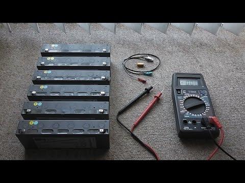 12v Battery Internal Resistance Test