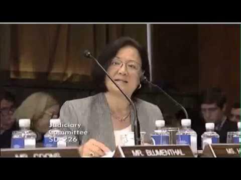 Sen. Mazie Hirono on Wendy Vitter's nomination for federal judgeship.