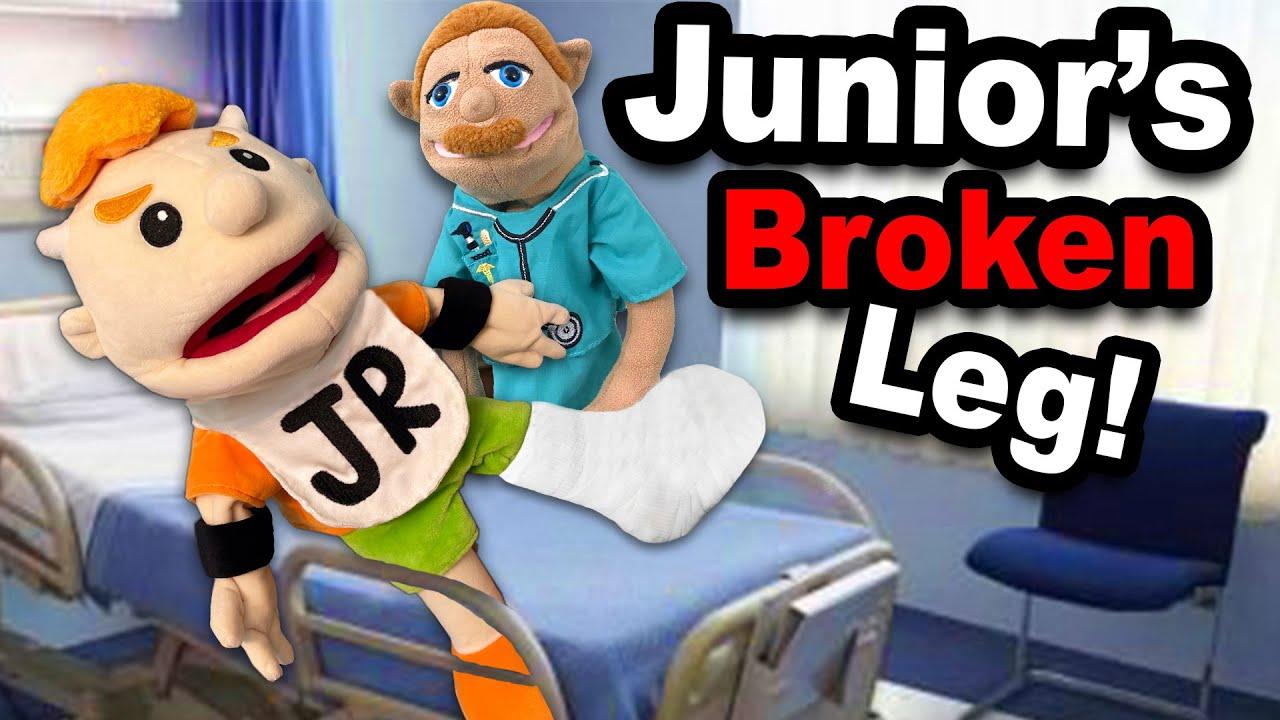 SML Movie: Junior's Broken Leg!
