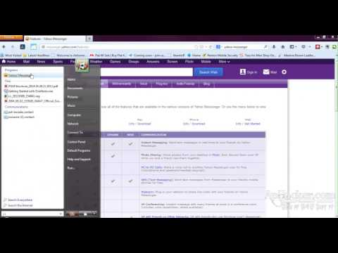 Yahoo messenger V11.5 complete inside and indept review