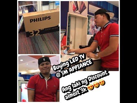Bumili ako ng Philips LED SMART TV / 32 Inches