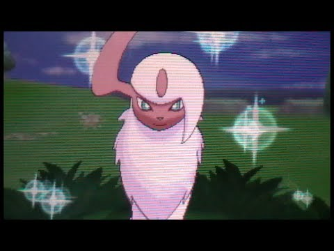 Shiny Absol!! (LIVE!! + Mega!) After 70 RE's! Pokemon Y