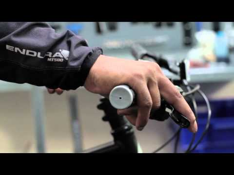 How to set up brake/shift levers