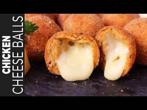 চিকেন চিজ বল    Chicken Cheese Balls   Bangladeshi Snacks Recipe