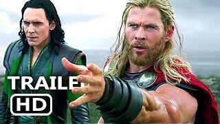 "THOR RAGNAROK ""Hela Destroys Mjölnir"" Movie Clip Trailer (2017) Thor 3 Best Scene, Marvel Movie HD"