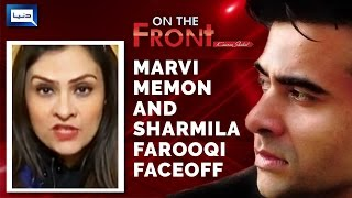Marvi vs Sharmila Battle - On The Front with Kamran Shahid - 27 December 2016