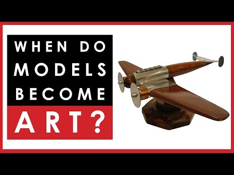 When do scale models become Art?