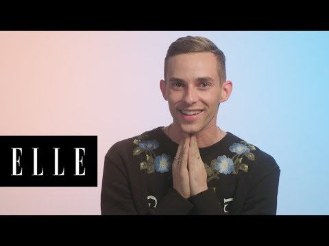 Adam Rippon Talks About His Best —and Worst —Beauty Looks Through the Years | Glow Up | ELLE