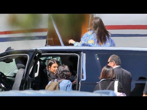 The Kardashians Fly Private For Family Spring Break