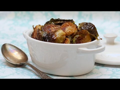 Roasted Brussels Sprouts (oven and stovetop methods)