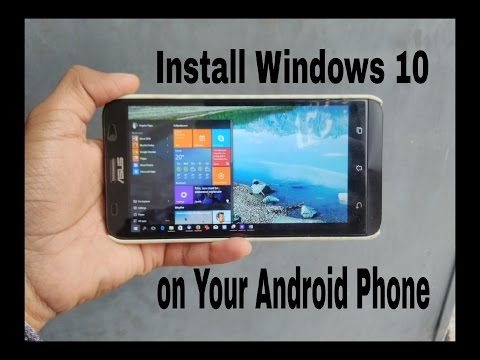 Install Windows XP/7/8/10 on Android[Fastest PC Emulator for Android Phone ]