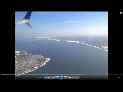 Tampa to Newark (EWR) flight: Del-Memorial Bridge, Philadelphia, Trenton, Sandy Hook 2015-02-27