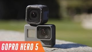 GoPro Hero 5 Black & Session first look