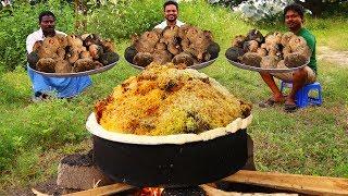 Elephant Foot Yam & Mutton Biryani Recipe   How To Make Elephant Foot Yam & Lamb Meat Mixed Biryani