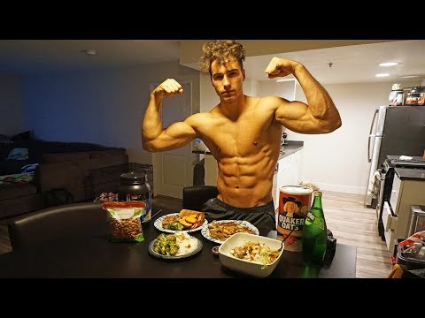 Full Day of Eating | Intermittent Fasting (3500 Calories) - Nic Palladino